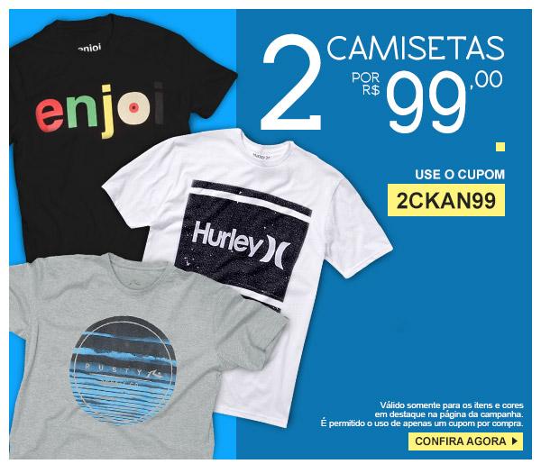 29fdbf87f11d0 Promoção Kanui  2 Camisetas por R 99