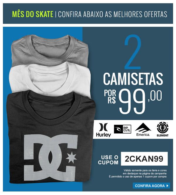 6e338ee1a3 Promoção Kanui  2 Camisetas por R 99  Top Marcas