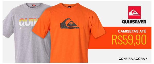 Camisetas Quiksilver ate 59,90